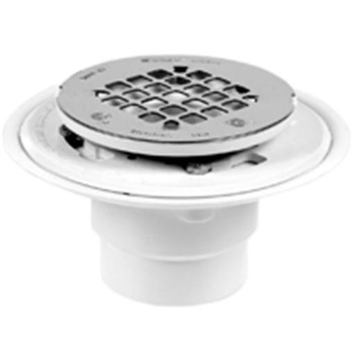 Oatey 42202 Shower Drain Pvc With Strainer