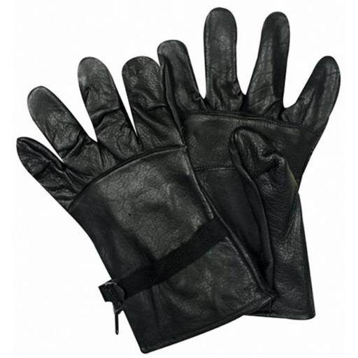 Fox Outdoor 79-235 05 GI Type Leather Glove Shell, Black - Size 5 4751FF6CFBCD221F