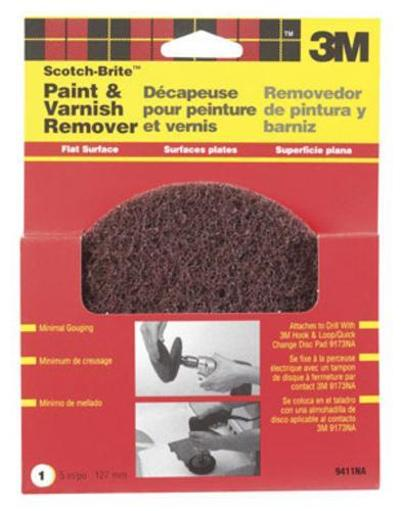 Scotch-brite 9411na Flat Surface Paint & Varnish Remover Disc 5