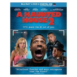 HAUNTED HOUSE 2 (BLU RAY/DVD COMBO W/DIGITAL HD/ULTRAVIOLET/2DISCS) 25192212031