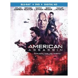 American assassin (blu ray/dvd) (2discs) BR53415
