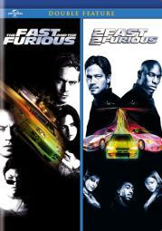 Fast & furious/2 fast 2 furious (dvd/double features-nla D61124272D