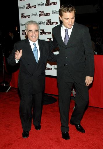 Leonardo Dicaprio, Martin Scorsese At Arrivals For New York Premiere Of The Departed, Ziegfeld Theatre, New York, Ny, September 26, 2006. Photo By.