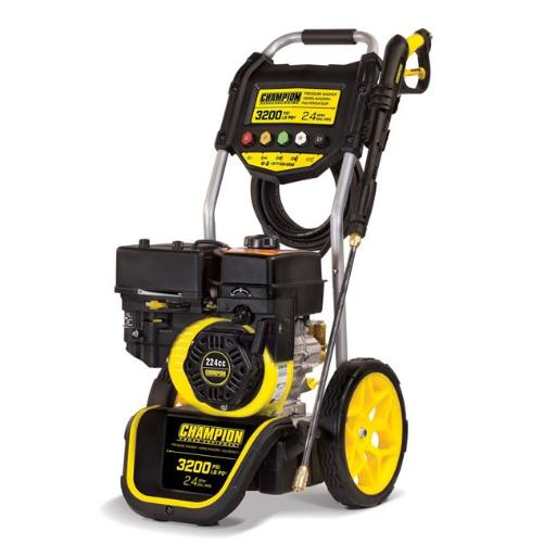 Champion 100384 3200 PSI 2.4 GPM Dolly Style Gas Powered Pressure Washer