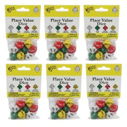 Koplow games inc 6 st place value dice 11871bn