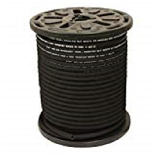 Hydrauli-Flex JR2-06-100 0.375 in. 2-Wire Hydraulic Hose, 5000 psi 100 ft. High Tensile Steel Braid