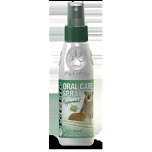 PetzLife 000453 Complete Oral Care Peppermint Spray, 4 Oz