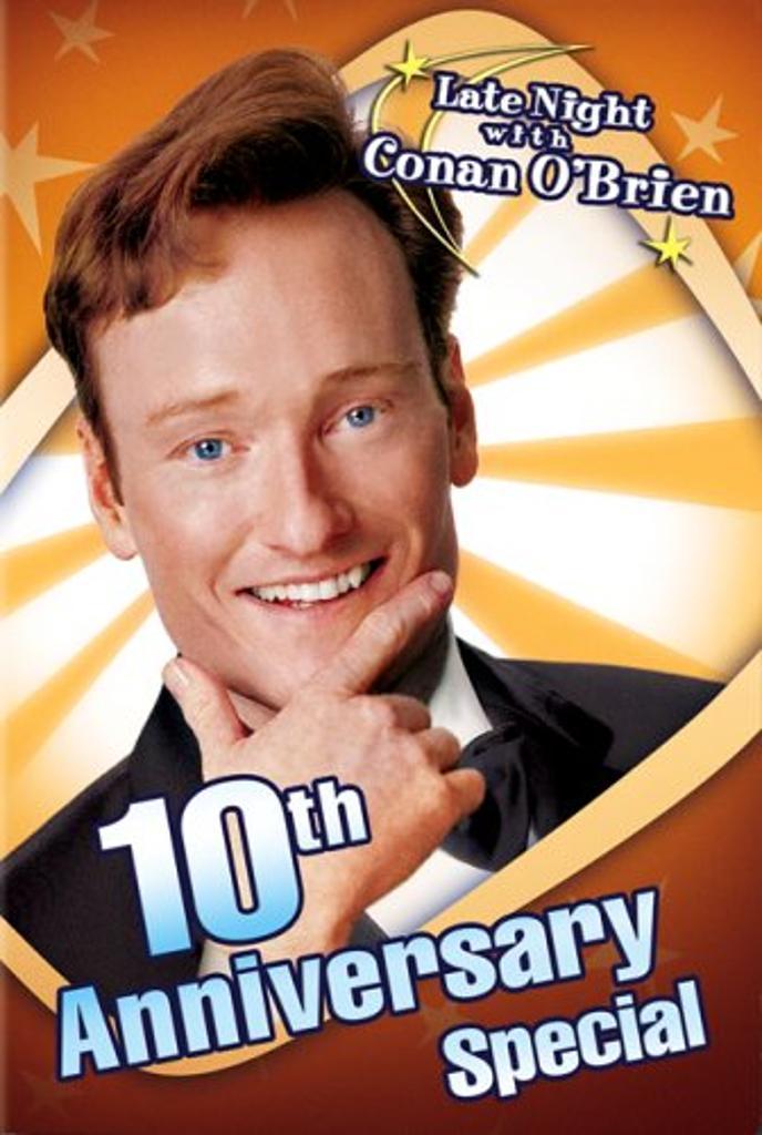 Late Night with Conan O'Brien 10th Anniv Special DVD