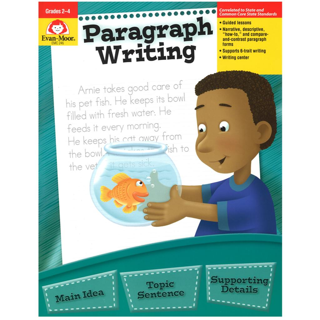 Evan-moor paragraph writing gr 2-4 246