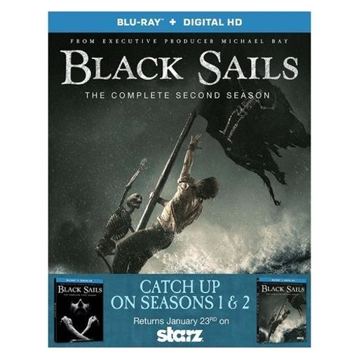 Black sails-seasons 1 & 2 (blu-ray/3 disc/2pk) LNVDVDZYQM7RQ1WK