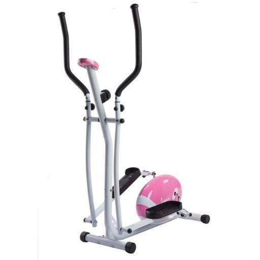 Sunny Health & Fitness P8300 Magnetic Elliptical Trainer, Pink