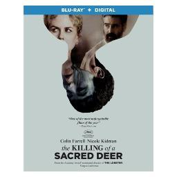 Killing of a sacred deer (blu ray w/digital hd) (ws/eng/sp sub/eng sdh/5.1d BR53797