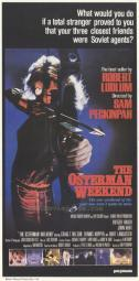 The Osterman Weekend Movie Poster Print (27 x 40) MOVAH2613