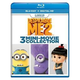 Despicable me 2-3 mini-movie collection (blu ray w/digital hd) BR61181397