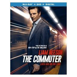 Commuter (blu ray/dvd w/digital) BR54155