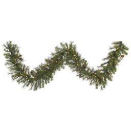 Vickerman A140716 9 ft. x 16 in. Modesto Mixed Pine Garland with 200 Tips