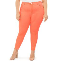 Celebrity Pink Womens Ankle Solid Skinny Jeans