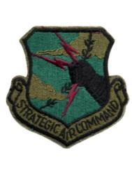 Strategic Air Command Patch, Subdued 72104