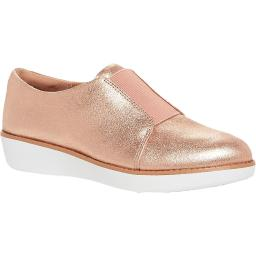 Fitflop Womens Suede Glimmer Derby Shoes