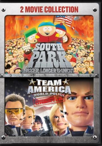 South park-bigger longer & uncut/team america-world police 2pk (dvd) AVSQPTOK4J3GT98G