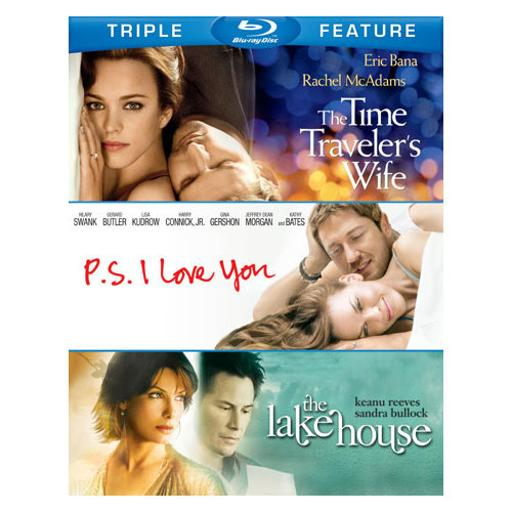 Time travelers wife/ps i love you/lake house (blu-ray/tfe/3 disc) 1288485