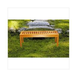 Achla OFB-08 Backless Garden Bench - Natural Oiled