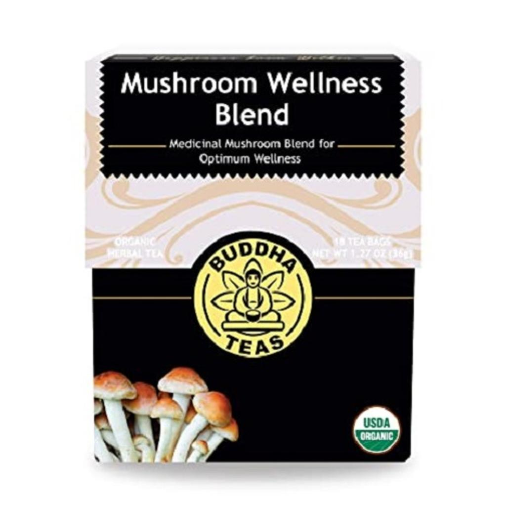 Buddha Organic Mushroom Wellness Blend Herbal Tea