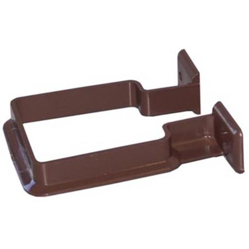 Genova Products RB202 Vinyl Downspout Bracket, Brown