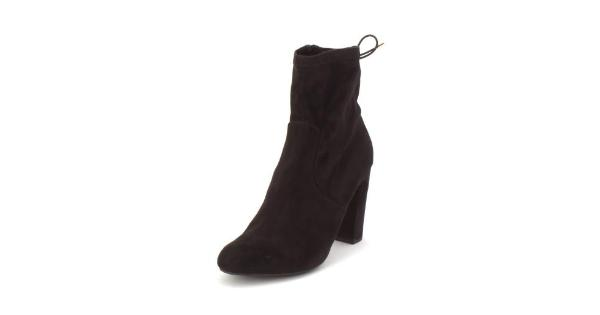 f5031d1649 Material Girl Womens Ali Almond Toe Ankle Fashion Boots - MassGenie