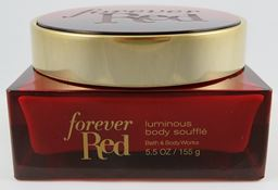 Bath & Body Works Forever Red Luminous Body Souffle 5.5oz