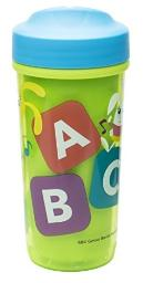 Zak Designs Toddlerific 8 oz. Sippy Cups, ABC Curious Learner