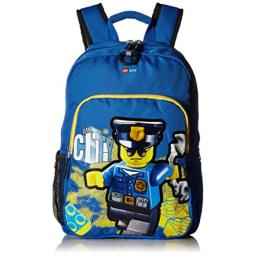LEGO Kids City Police Heritage Classic Backpack, Blue, One Size