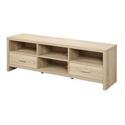 Convenience Concepts Designs2Go Key West TV Stand, 60-Inch, Weathered White