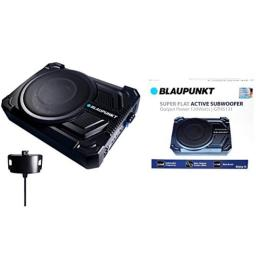 "BLAUPUNKT GTHS131 200W 10"" CAR Under SEAT Super Slim Powered SUBWOOFER Enclosed"