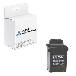 AIM Compatible Replacement for Brother IN-700 Black Inkjet (1000 Page Yield) - Generic