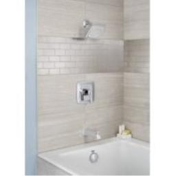 American Standard T353508.002 Townsend Bath and Shower Trim Kit with Water-Saving Shower Head, Polished Chrome