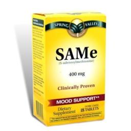 Spring Valley - SAMe 400 mg, 18 Tablets by Spring Valley