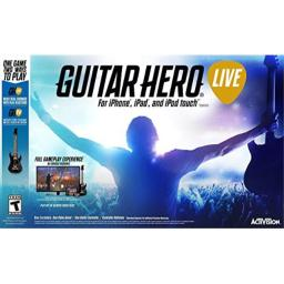 Guitar Hero Live Video Game for iPhone iPad iPod Touch