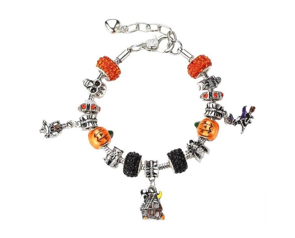 Novadab Halloween Charm Bracelet
