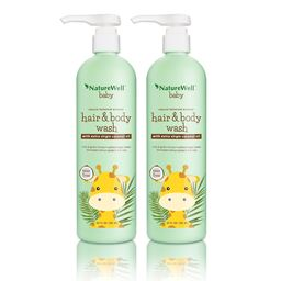 Nature Well Baby 2-in-1 Hair and Body Wash (20 fl. oz., 2 Pack.)