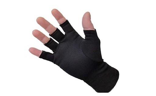 Winter Fingerless Soft Self Warming Compression Warm Gloves Fashion 275F5BD0413AEEE2