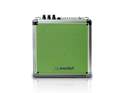 Wireless Portable Bluetooth PA Speaker System with Built-in Rechargeable Medium-Color-Green Grille