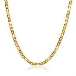 14K Gold Filled Figaro Chain 20""