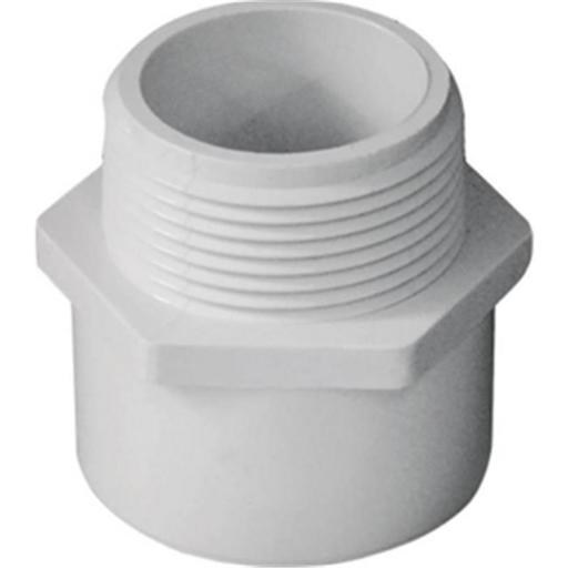 Genova Products Inc 30414 Adapter Male PVC Slip x MIP 1.25 in.