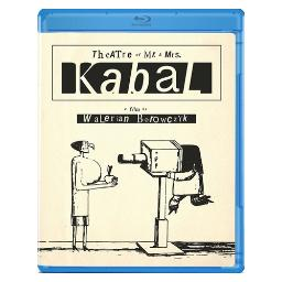 Theatre of mr & mrs kabal (blu ray) (french w/eng sub/1.33:1/b&w/color) BROF1341