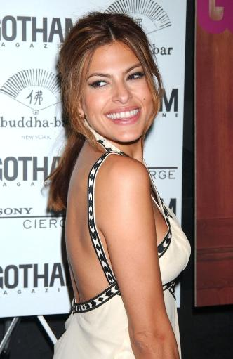 Eva Mendes, At Arrivals For Gotham Magazine October Cover Party For Eva Mendes, Buddah Bar, New York, Ny, October 11, 2007. Photo By Kristin.