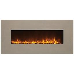 Amantii BLT-IN-5124-CLASSICO-VENETIANGREY 39.37 In. Unit With 51 x 24 In. Venetian Grey Natural Concrete Surround