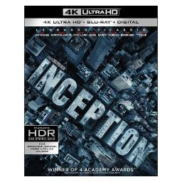 Inception (blu-ray/4k-uhd/2010/ultraviolet/4 disc) BR646041