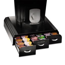 Mind Reader TRY01-BLK Anchor K-Cup Coffee Organizer  13 .5 in. x 13 .25 in. x 3 .25 in.
