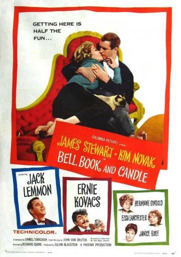 Bell Book and Candle Movie Poster Print (27 x 40)